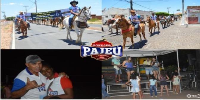 Associação dos Produtores Rurais de Pajeú realiza 2ª cavalgada e festa beneficente