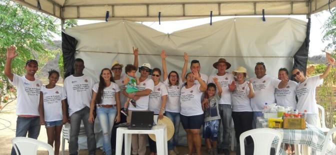 CANDIBA: Agricultores familiares recebem curso sobre práticas agroecológicas