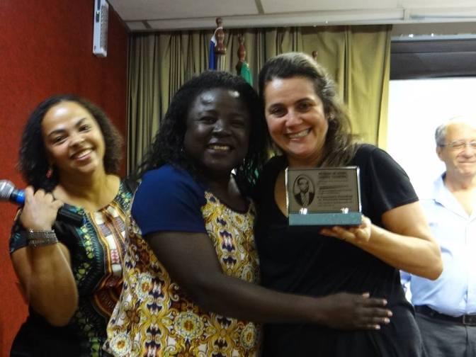 Secretária de Educação de Caetité é premiada durante Seminário em Salvador