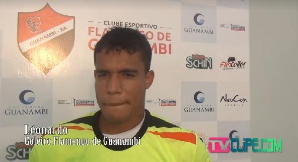 Flamengo de Guanambi anuncia contração do Goleiro Léo Paredão