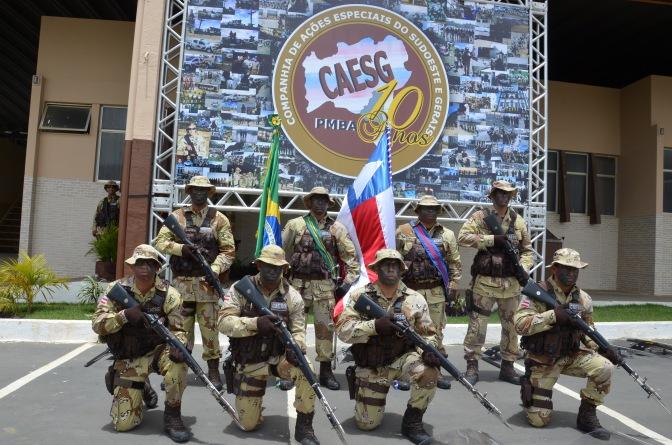 Candiba: Prefeito Municipal solicita base de apoio do Comando de Policiamento Especializado (Caesg)