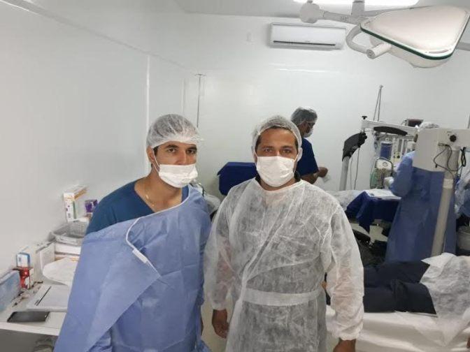 SAÚDE | – Mutirão de cirurgias de catarata atende 300 pessoas em Guanambi