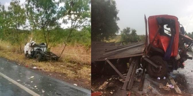 Montealtense se envolve em acidente que deixou um morto e cinco feridos na BR-135 em Montes Claros