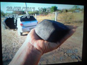 Suposto meteorito cai em Palmas de Monte Alto, análise de sua composição será realizada