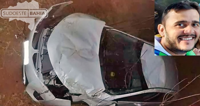 Candiba: Empresário morre em acidente na BR-122 próximo a Pilões