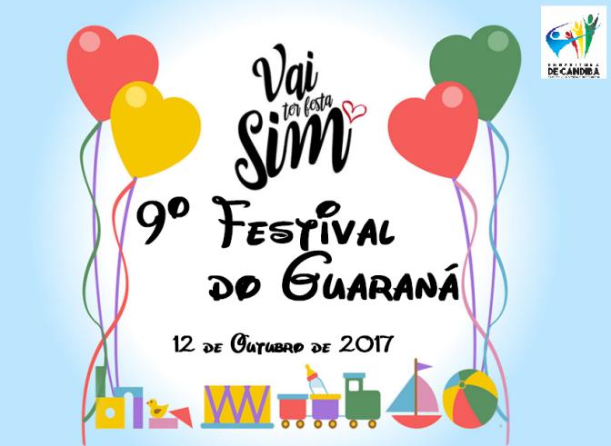 Candiba: Dia das crianças será comemorado em grande estilo com muitas brincadeiras, brindes e animação no 9º Festival do Guaraná