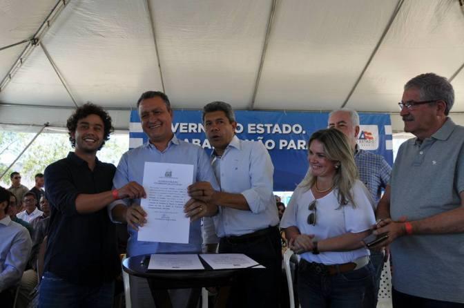Candiba: ordem de serviço da recuperação da BA -612 foi assinada pelo governador neste sábado(14); Obras começam em breve