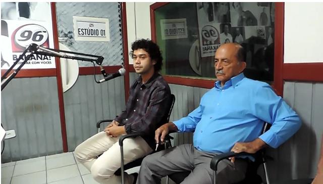 Prefeito Jarbas concederá entrevista na rádio 96 FM na manhã desta terça-feira(10)