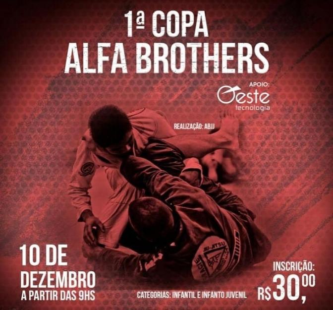 Candiba: Academia Alfa Brothers promove a 1° Copa Jiu Jitsu no dia 10 de Dezembro