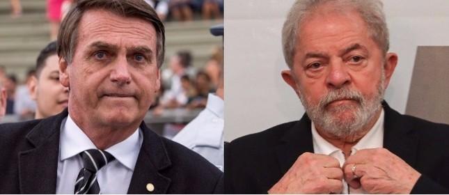 Eleições 2018: Pesquisa Ibope mostra Lula e Bolsonaro na frente