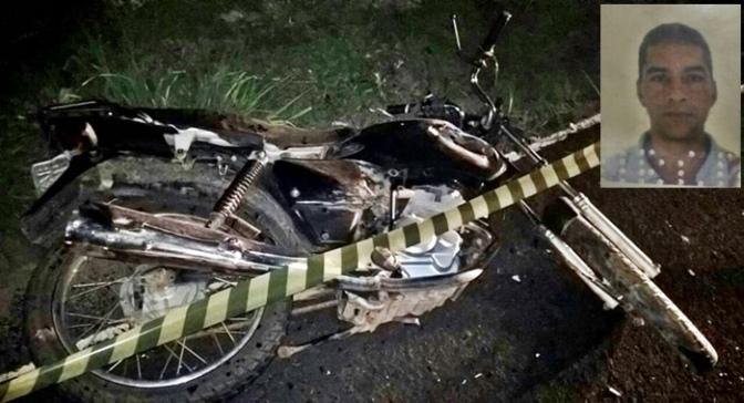 Palmas de Monte Alto: Homem morre após colisão frontal entre caminhonete e moto na BR-030