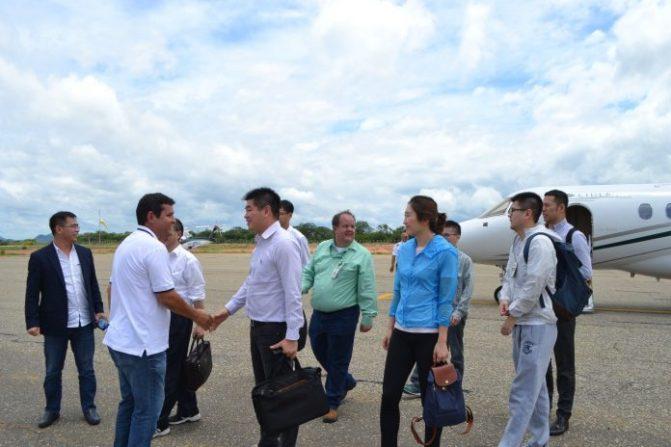 Chineses visitam Guanambi para retomada das obras da Fiol