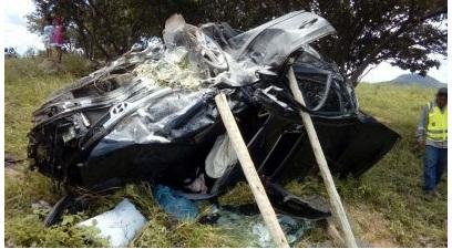 Lamentável: Acidente automobilístico ceifa a vida de mulher candibense; e deixa feridos