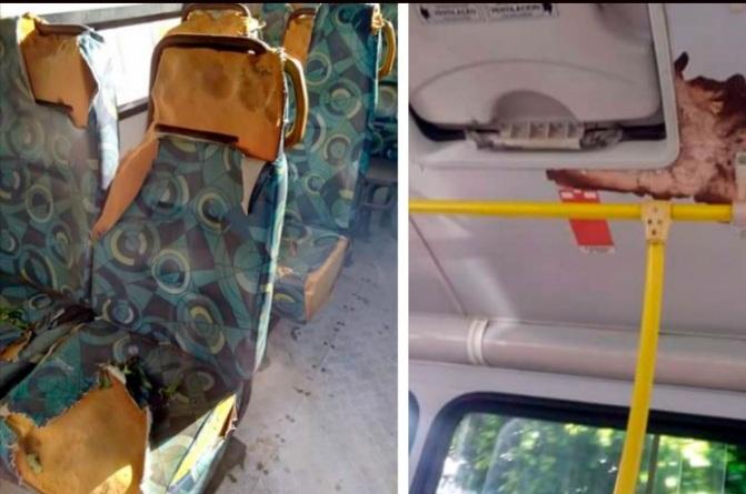 Matina: morador do município denuncia estado precário de ônibus escolar