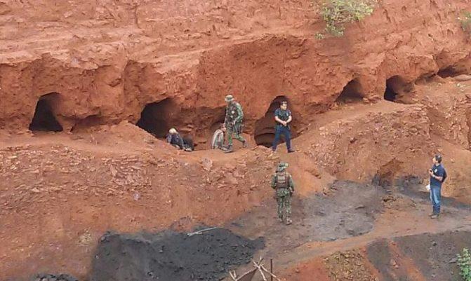 Caetité: R$ 4,3 milhões em manganês são roubados de mina invadida